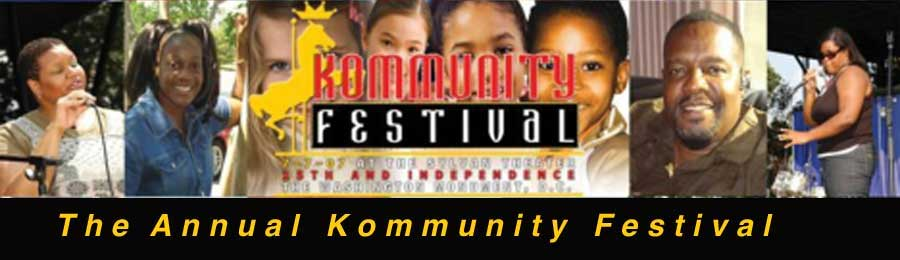 The 6th annual kommunity festival